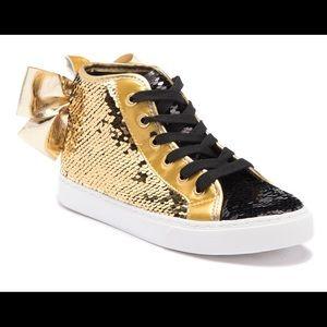 JoJo Siwa Reverse Sequin High-Top Sneaker